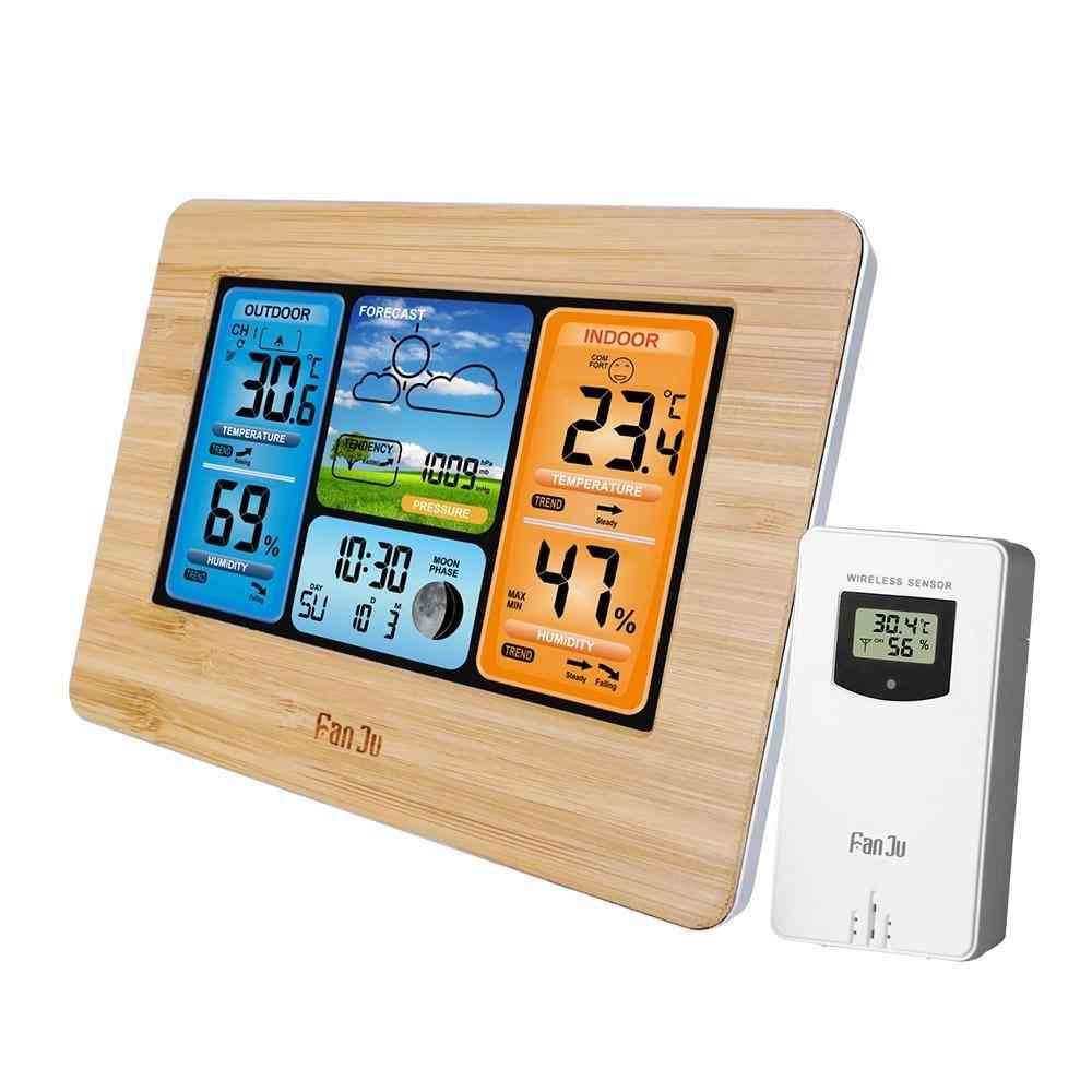 Wall Desk Alarm Clock Weather Station