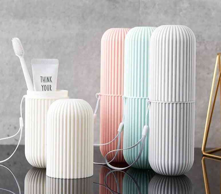 Simple Fashion Travel Toothbrush Cover Protection Box