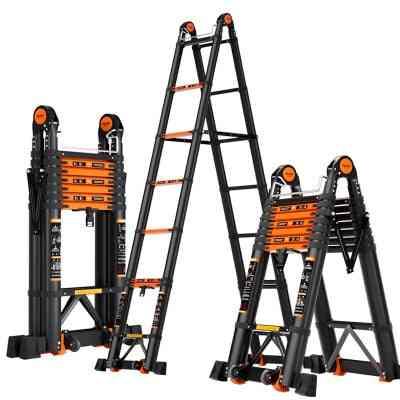 Foldable Deformable Telescopic Herringbone/i-shaped Straight Ladder