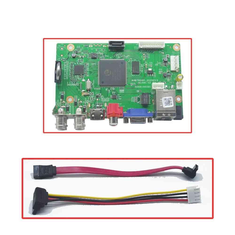 Ahd Cvi Tvi Ip Cvbs Ip, Cctv Dvr Main Board /recorde Motherboard