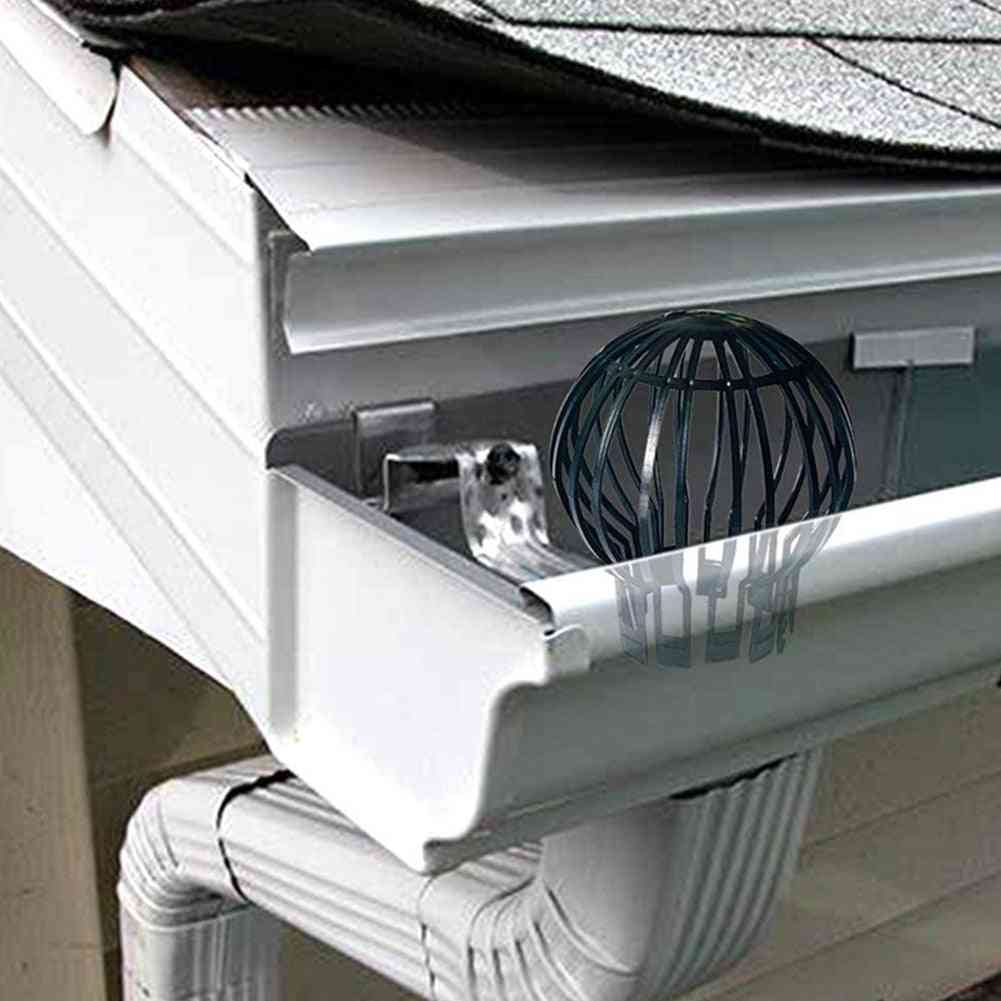 Leaves Protection Roof Drain, Garden Filter, Home Pp Outdoor Gutter Guard, Downpipe Strainer, Anti-blocking