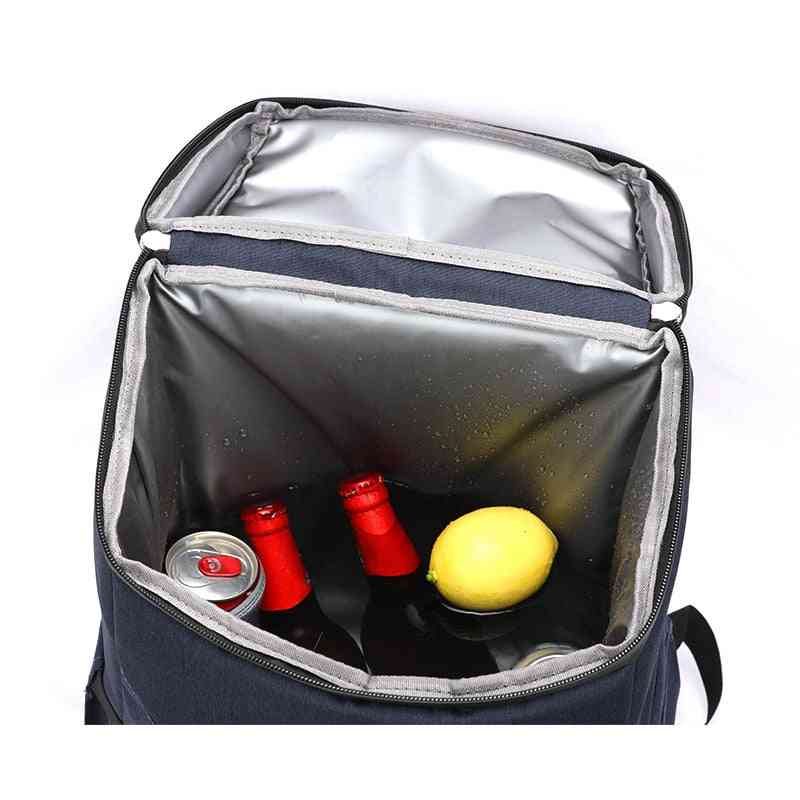 Cooler Backpack Thicken Waterproof Large Thermo Bag Refrigerator