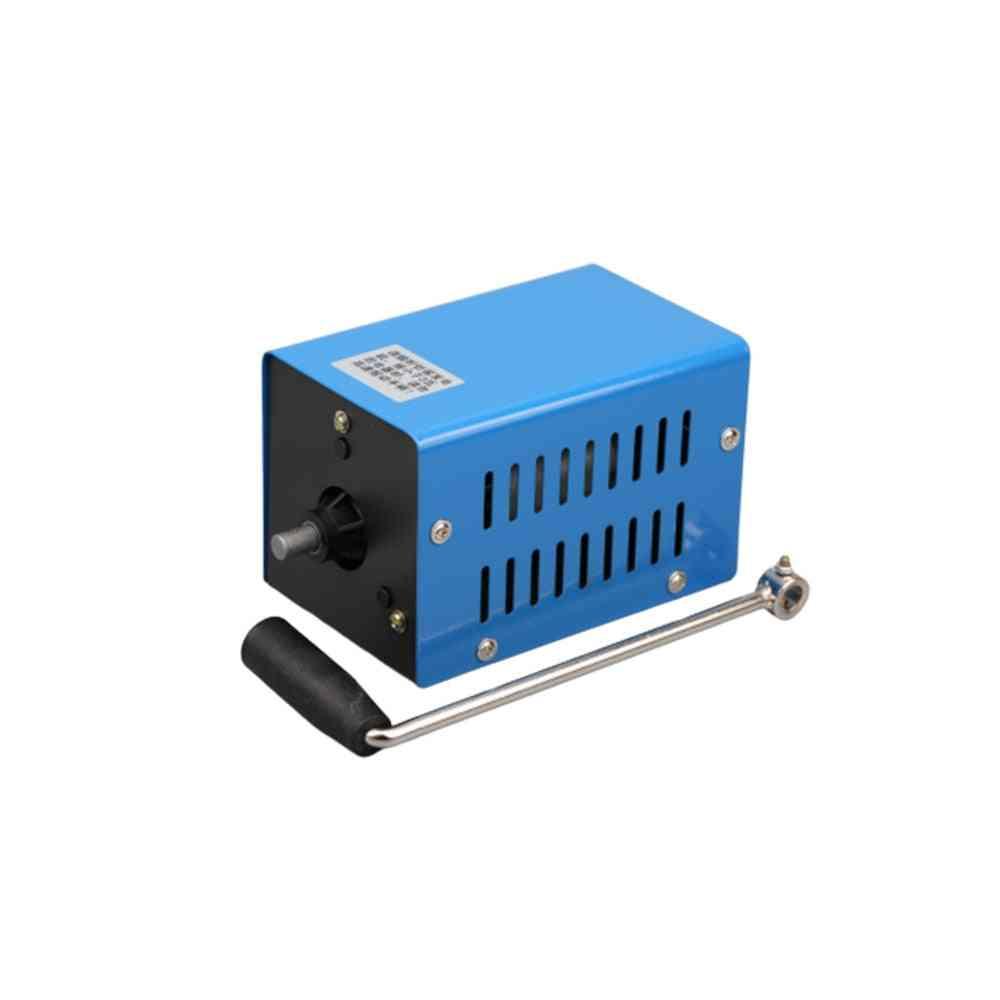 Hand Crank Dynamotor, High Power Usb Charging, Outdoor Camping Survival, Hand Generator