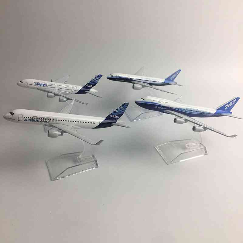Airbus Boeing Airplane Model Aircraft Diecast.