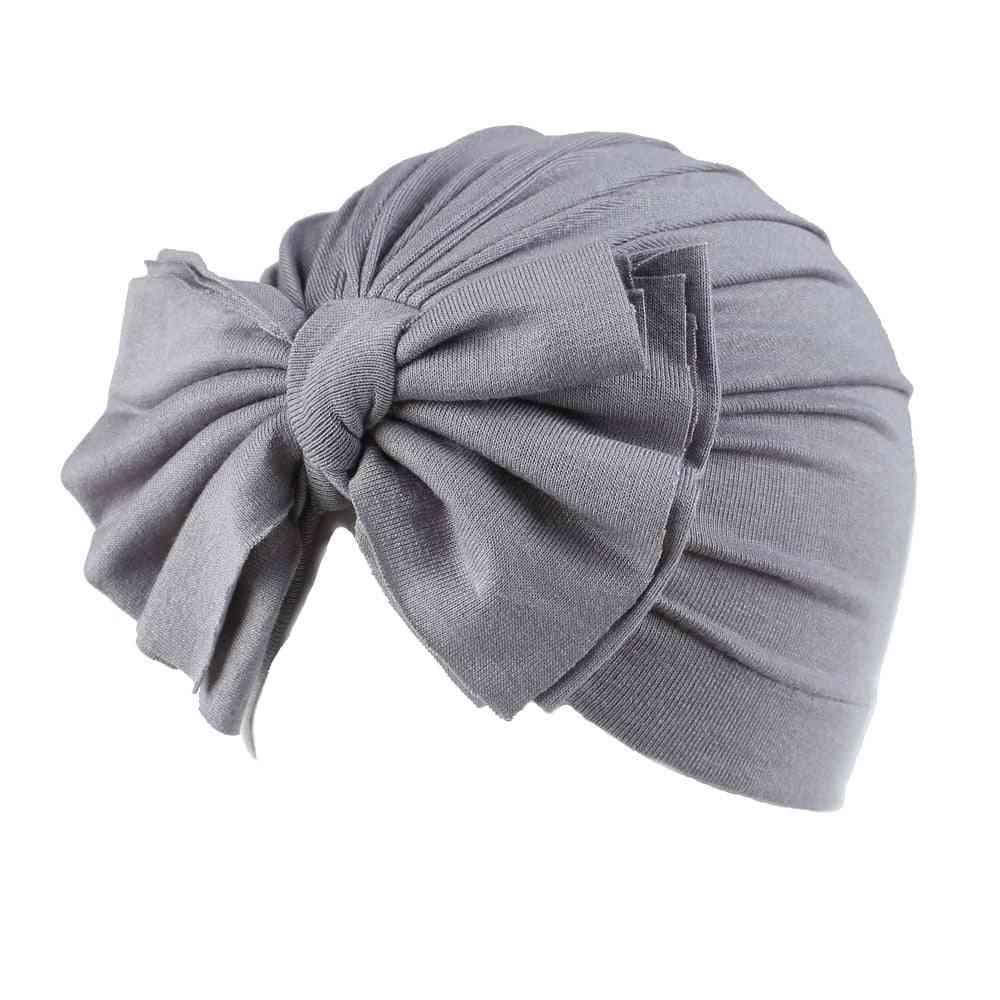 Baby Caps, Turban Toddler Spring Bow Hat Cap