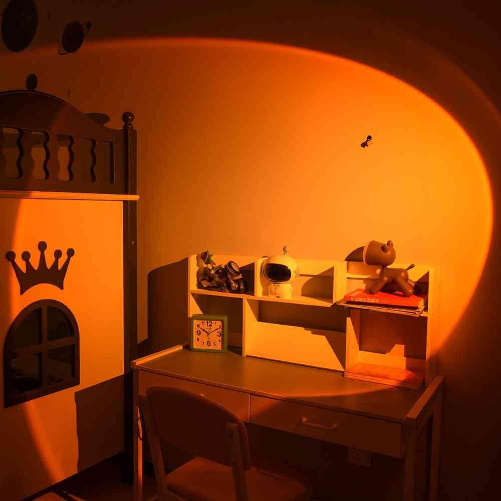 Modern Led Sunset Floor Lamp