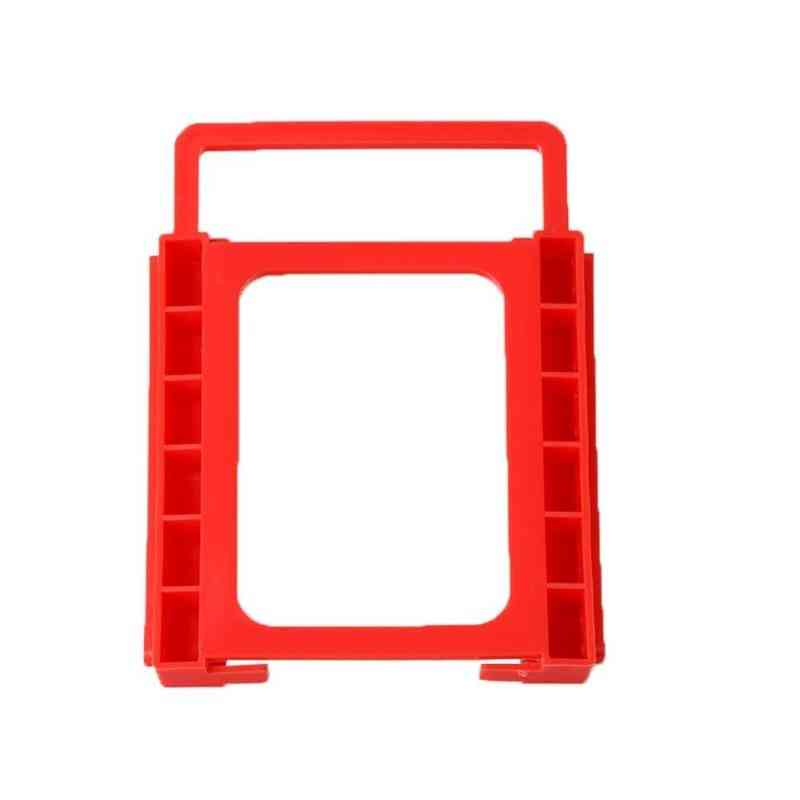 Hard Drive Bracket Red Plastic Mounting Adapter