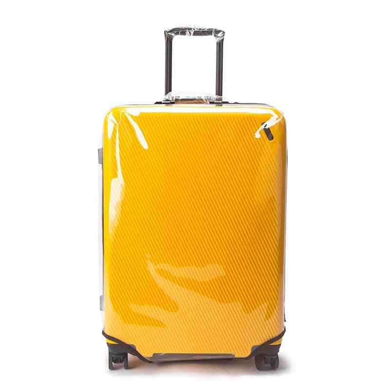 Pvc Transparent Disassembly Trolley Case Luggage Cover