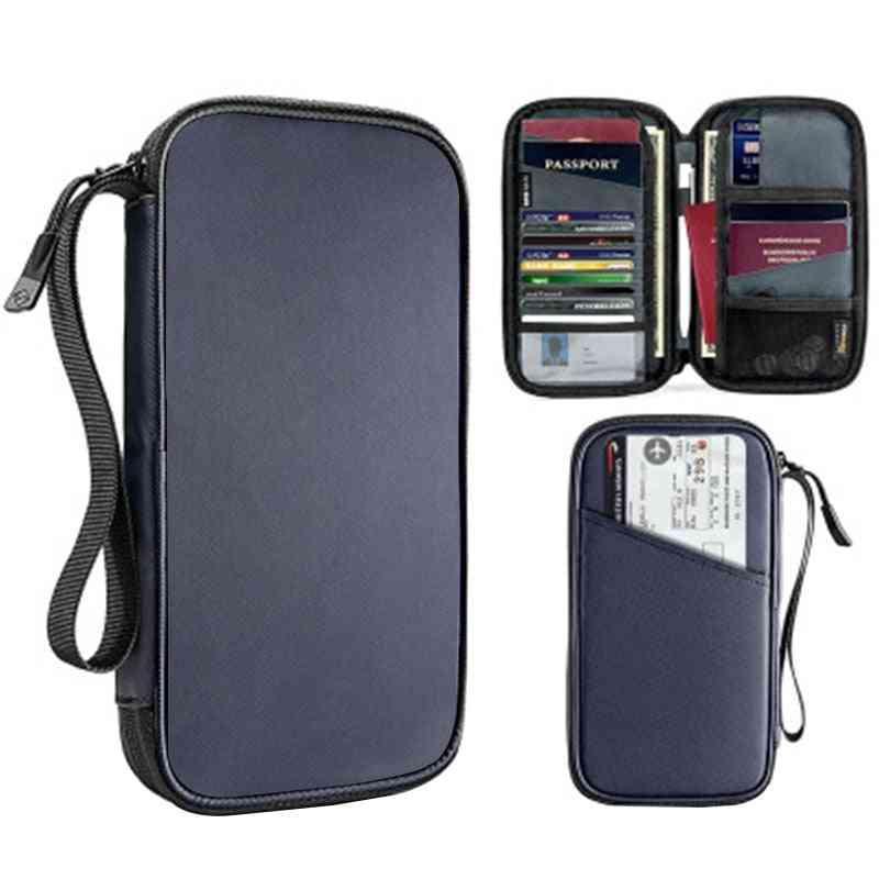 Travel Wallet Passport Holder Multi-function Credit Card Package