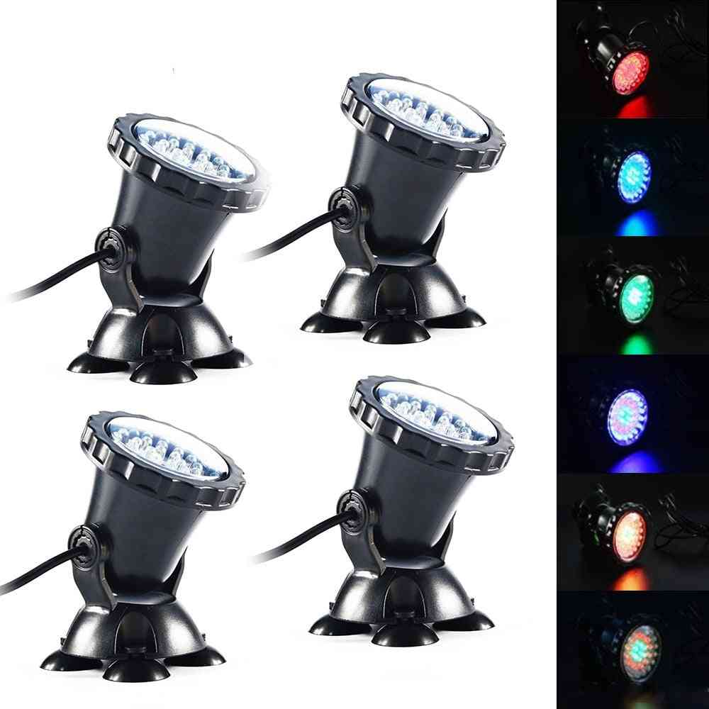 Led Rgb Pond Spot Light For Underwater Pool, Fountain