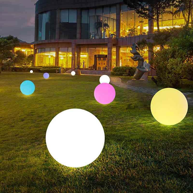 Solar Power Color Changing Led Ball Lamp