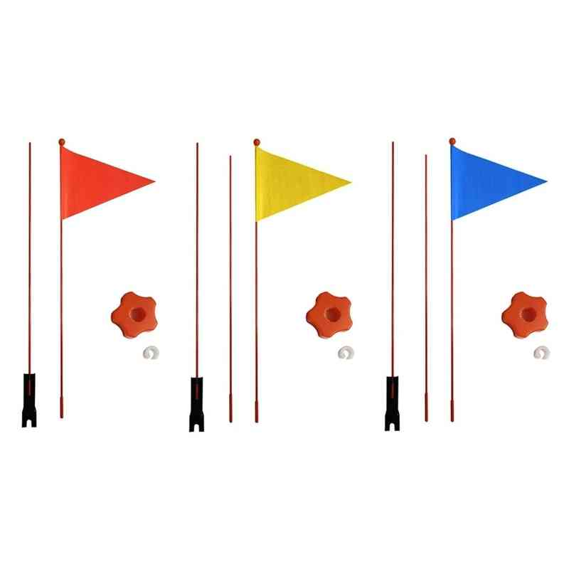 Children Bicycle Flag Safety Pennant For And Cycling