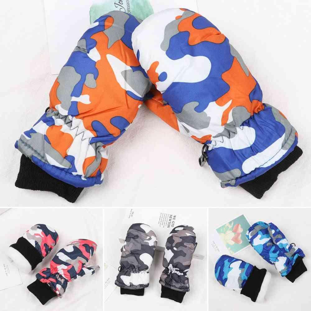 1pair Fashion Waterproof Gloves