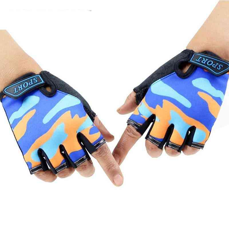 Kids Non-slip Ultrathin Outdoor Sport Breathable Gloves