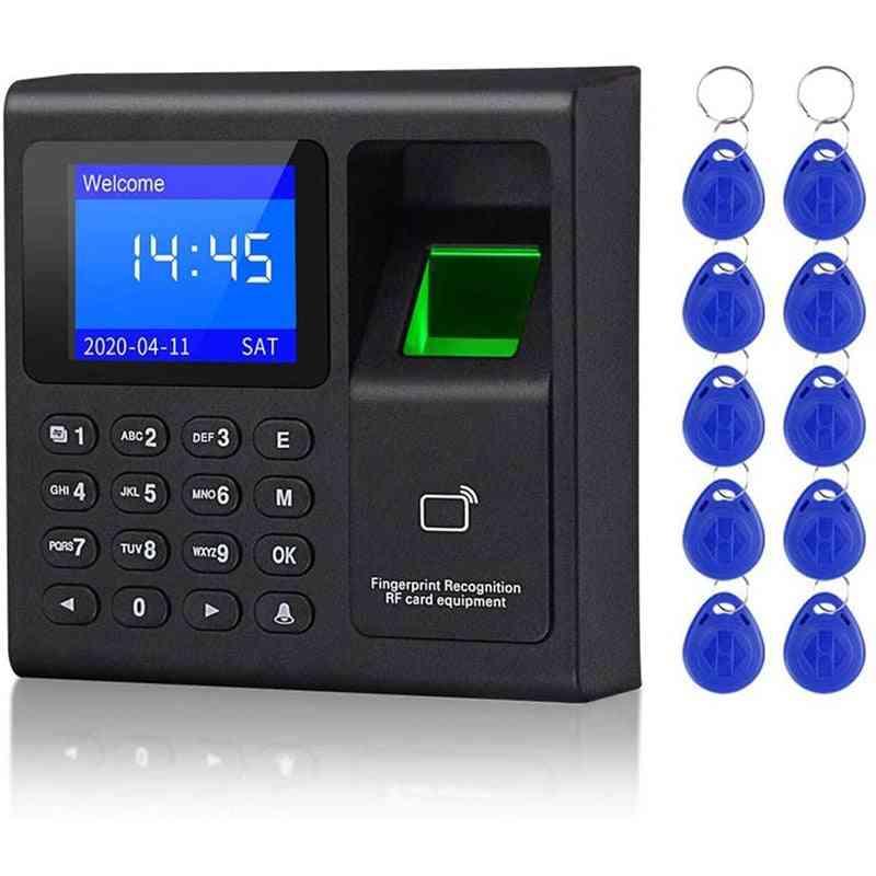 Fingerprint System Electronic Time Clock Attendance Machine