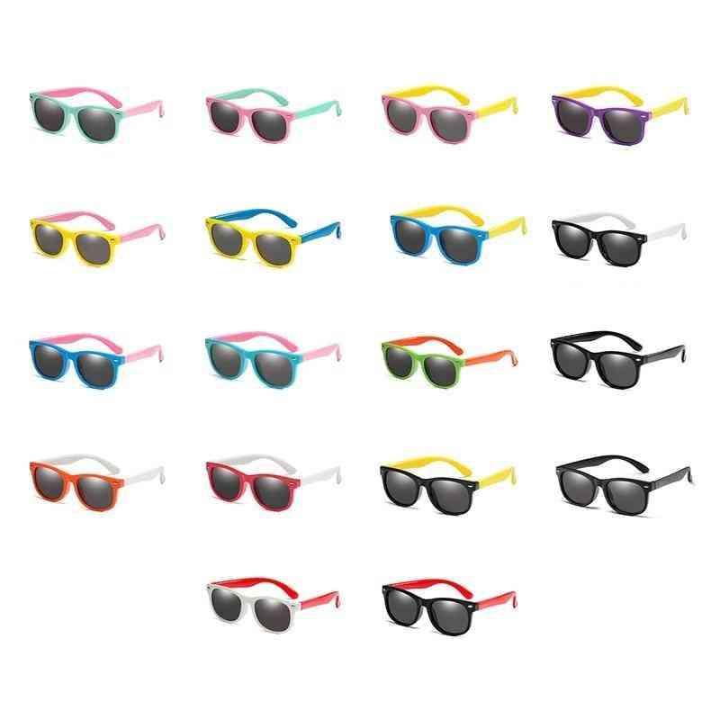 Boys Silicone Safety Sun Glasses