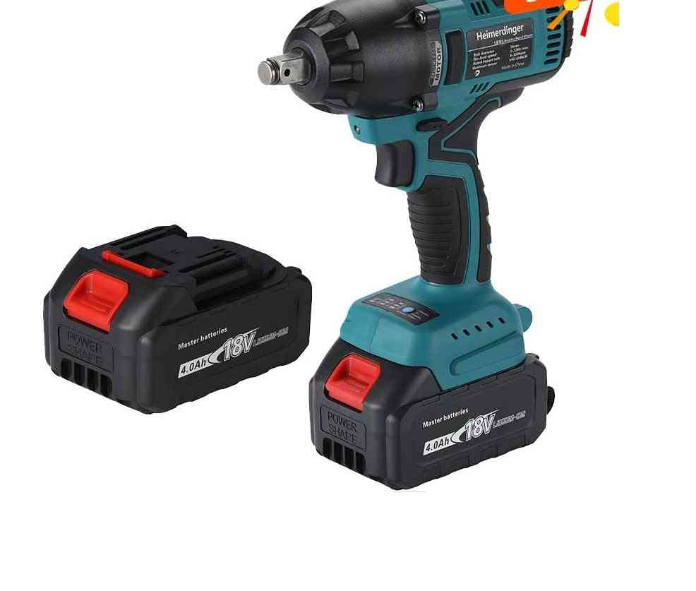 Lithium-ion Battery Powered Brushless Impact Wrench