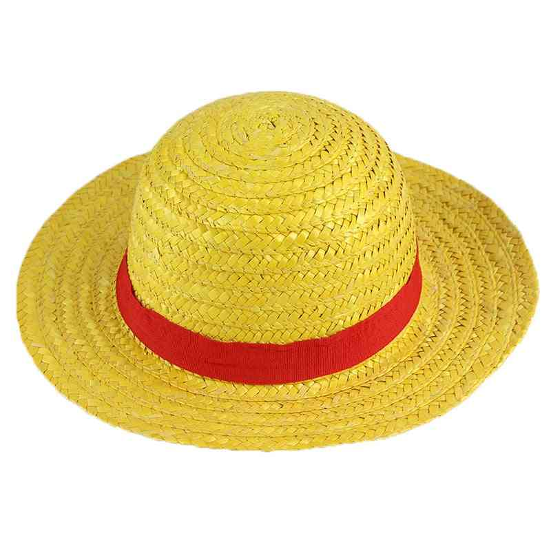 Straw Hat Of Luffy, Cosplay Toy, King Pirate Anime Cap For Masked Ball