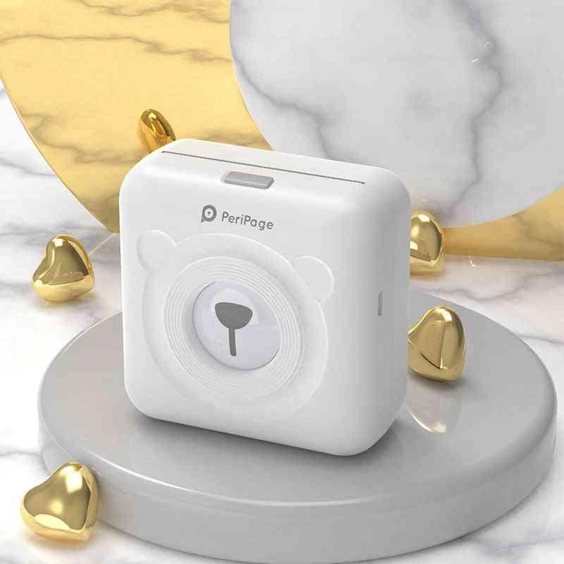 A6 Peripage Cute Mini Portable Bluetooth Wireless Paper Photo Printer