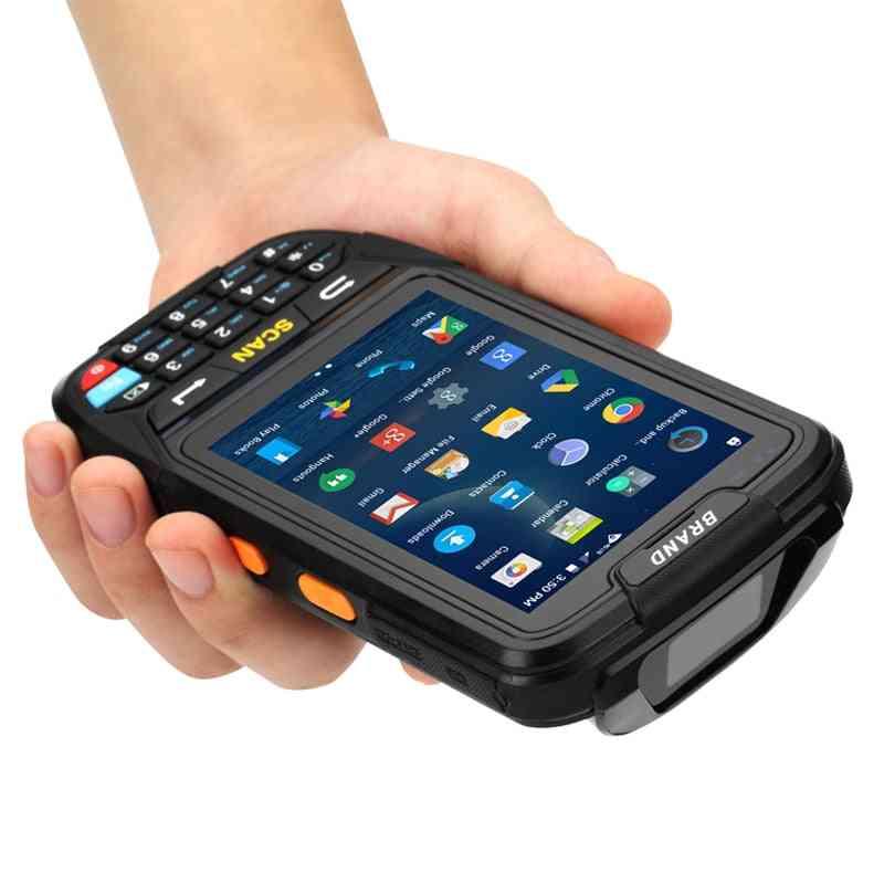 Handheld Terminal Support Wifi Bluetooth 4g Gps Camera Mini Barcode Scanner