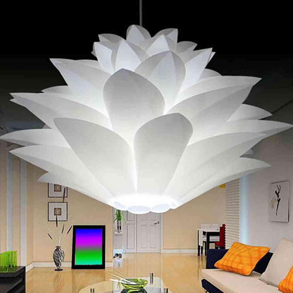 Lotus Chandelier Diy Lotus Flower Six-layer Lamp Shade