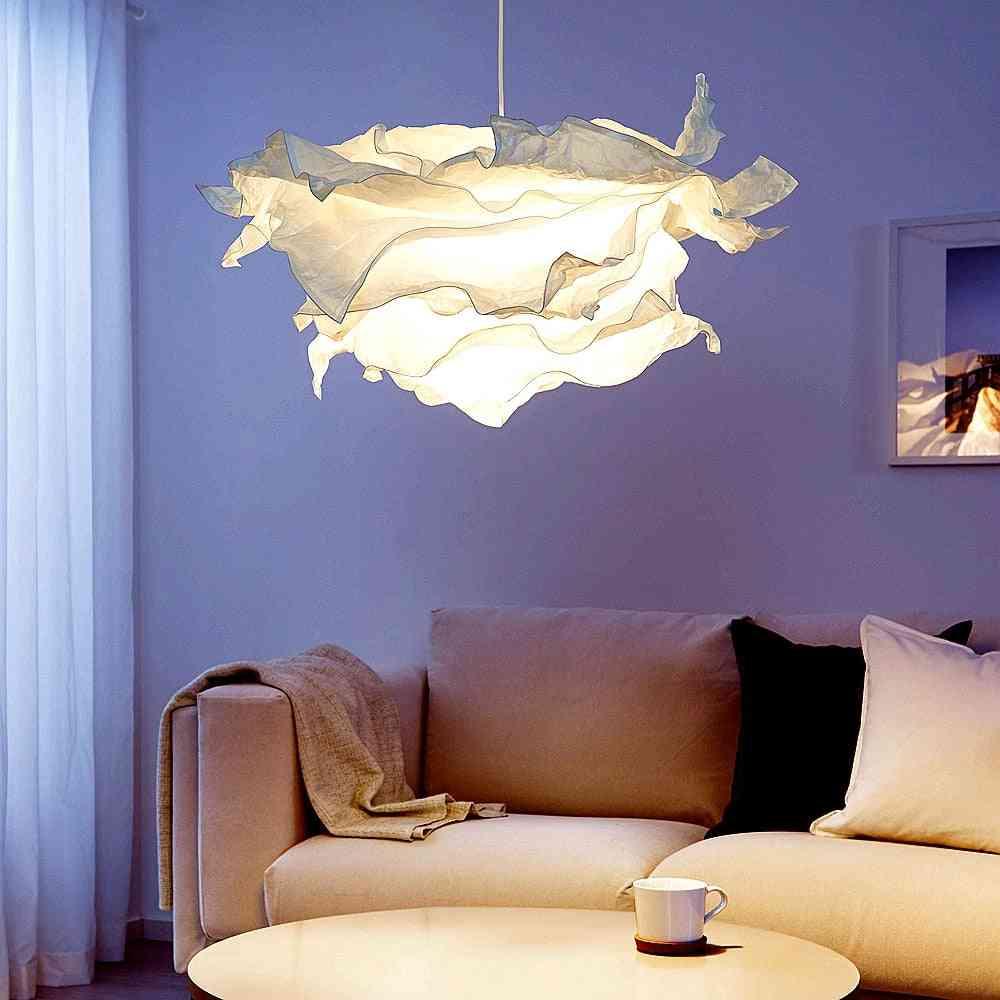 Art Diy Cloud Flower Ceiling Lampshade