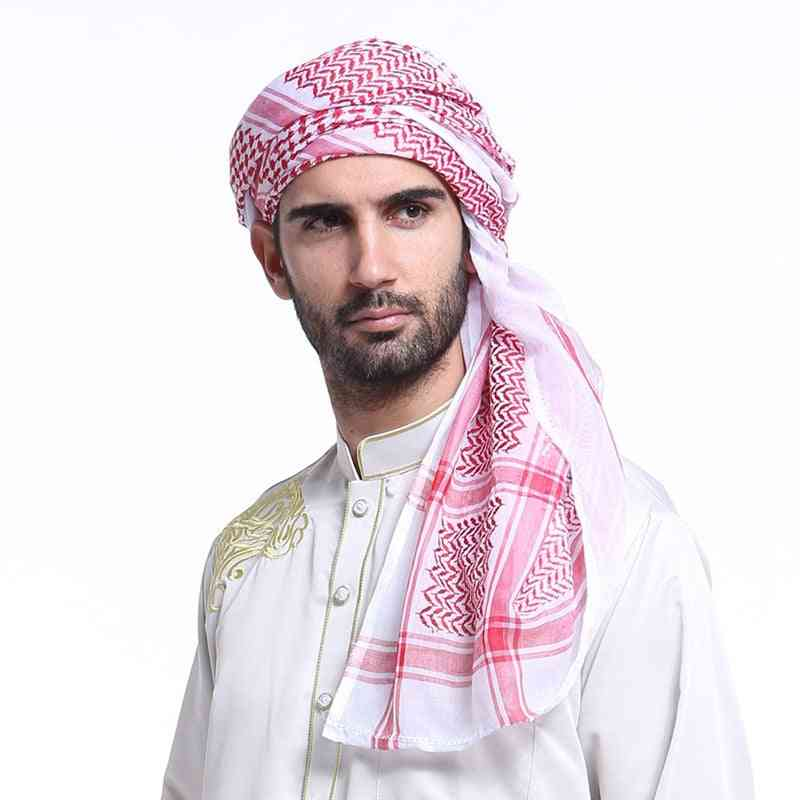 Muslim Man Hijab Cap Multifunction Scarf