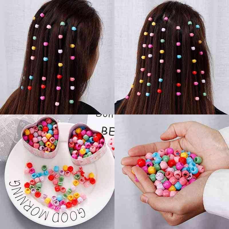 Women Colorful Small Hair Ornament Clips