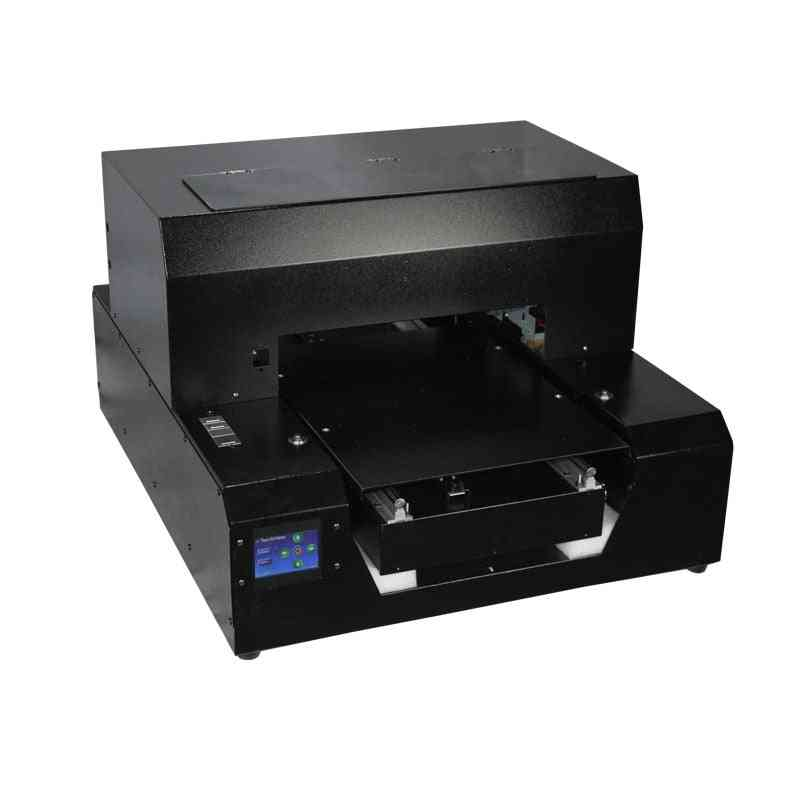 Automatic A3 Size Uv Printer With Rip 9.0 Support White And Color Ink Printing