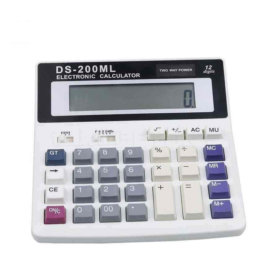 Ds-200ml Muti-function / Big Buttons Office Calculator