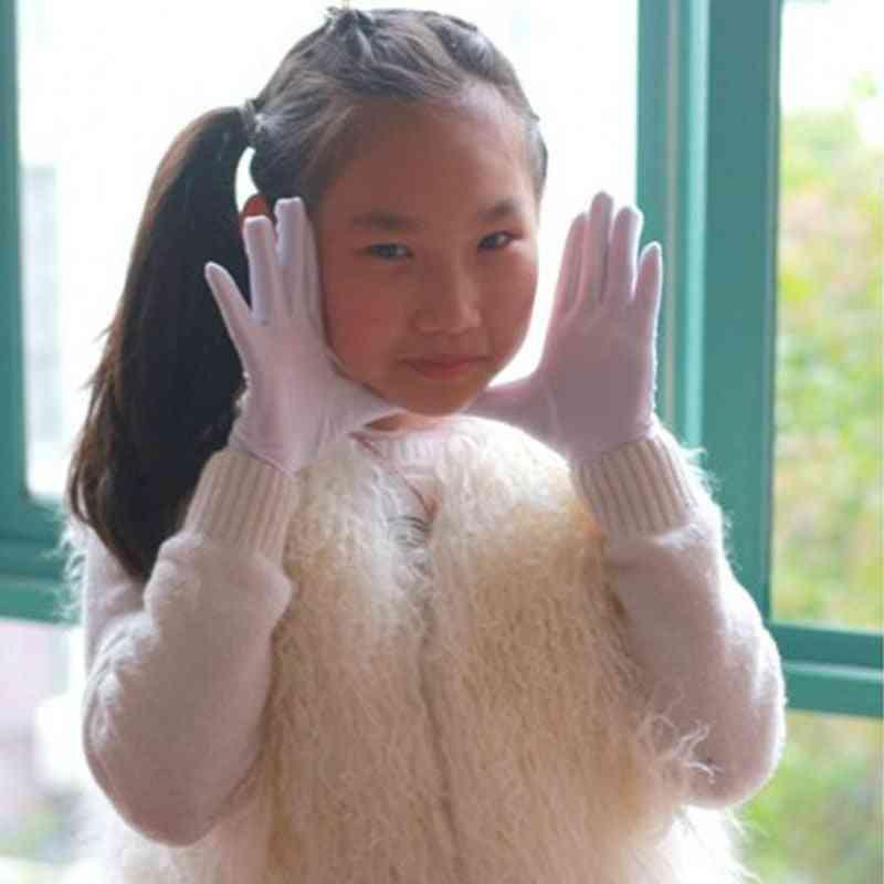 Hot Summer Sun Protection Wrist Gloves & Mittens