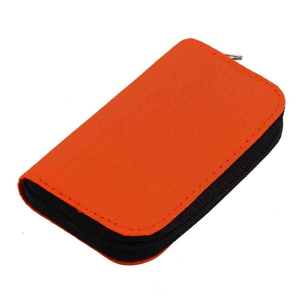 Sd Sdhc Mmc Cf For Micro Sd Memory Card Storage Carrying Pouch