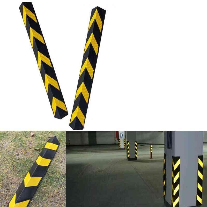Reflective Corner Guard Anti Collision Tape Warning Signs For Garage Parking