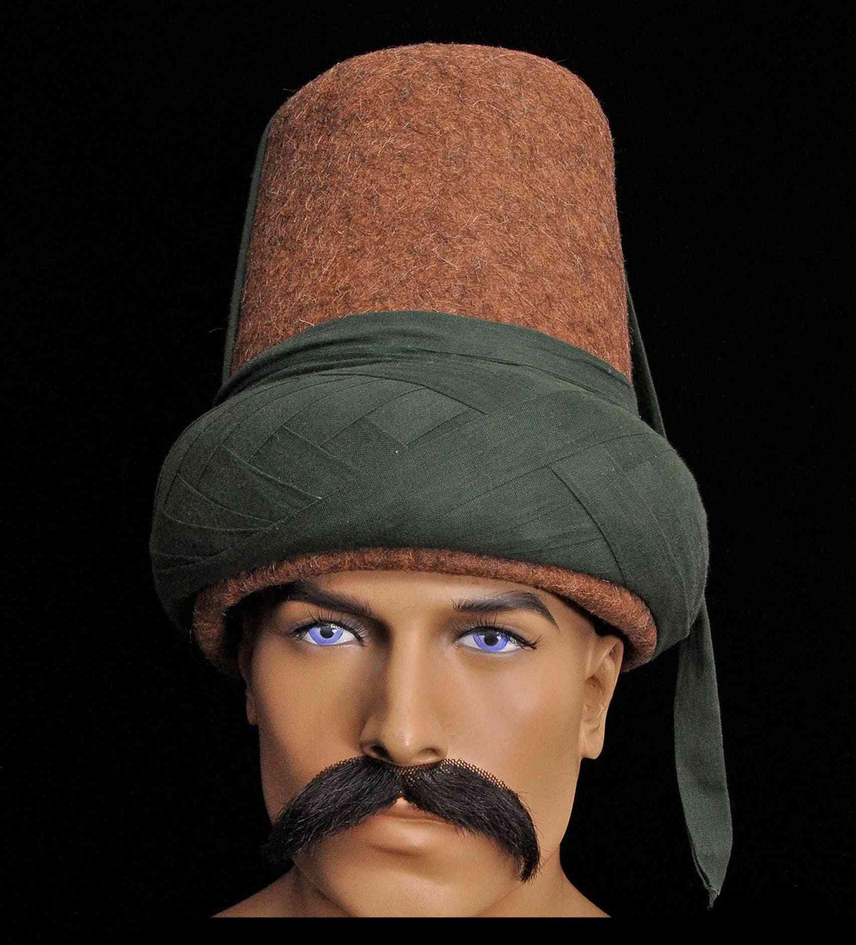 Men Cotton Wool Traditional Hat