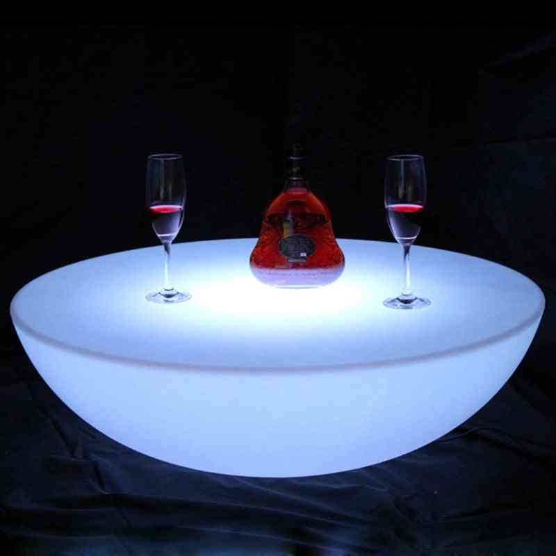 Rechargeable Club Led Illuminated Coffee Table
