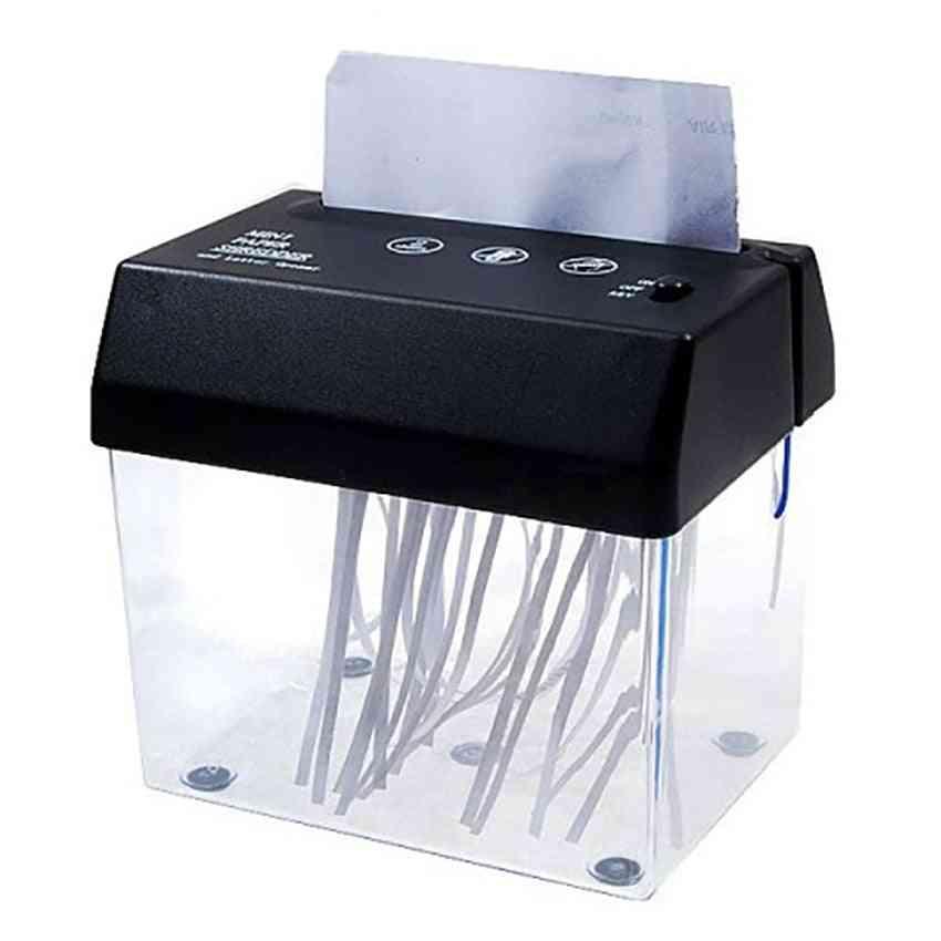 Mini Electric Paper Shredder Usb Battery