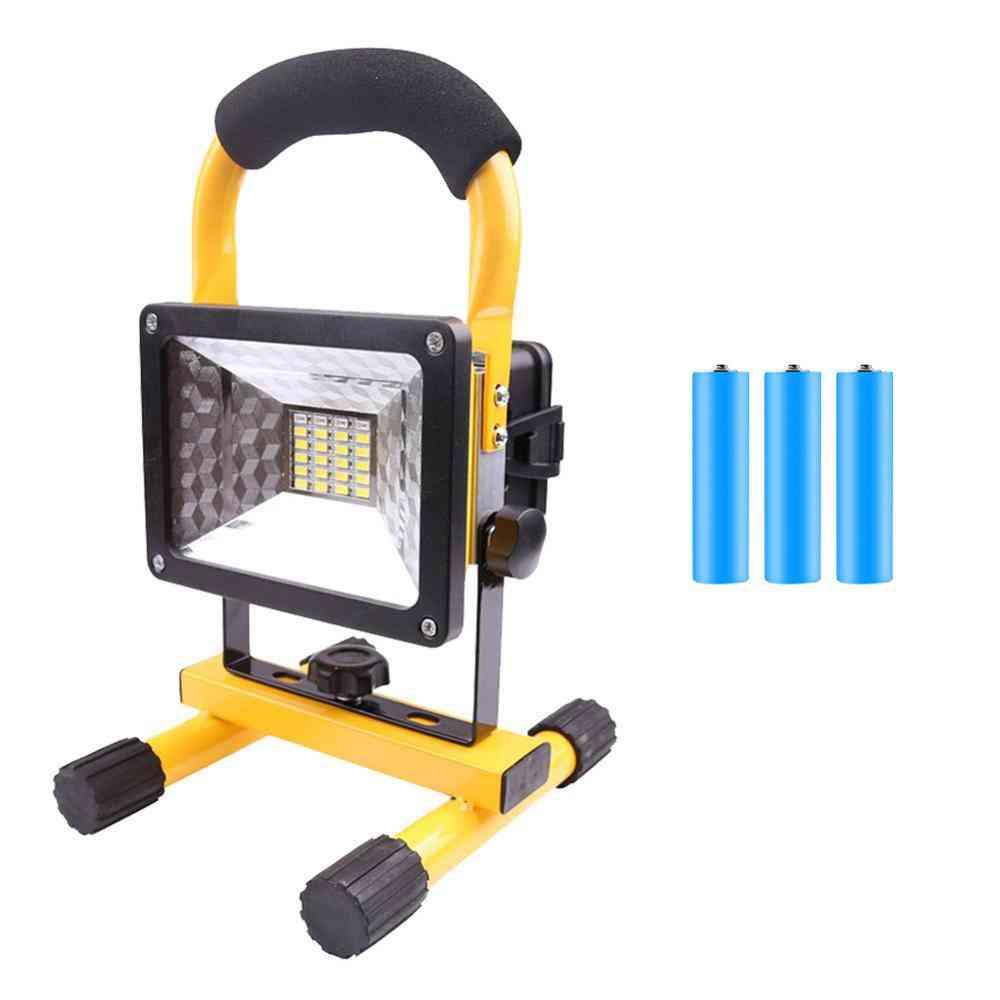 Rechargeable Waterproof Ip65 Camping Lamp Outdoor Spotlight Floodlight
