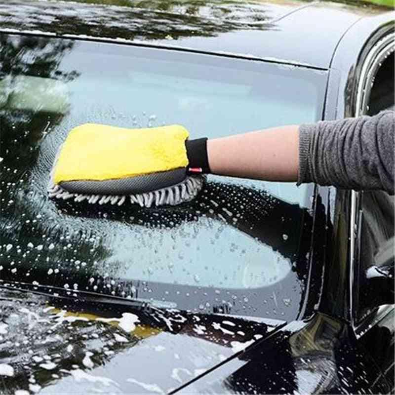 Waterproof Car Wash Microfiber Chenille Gloves