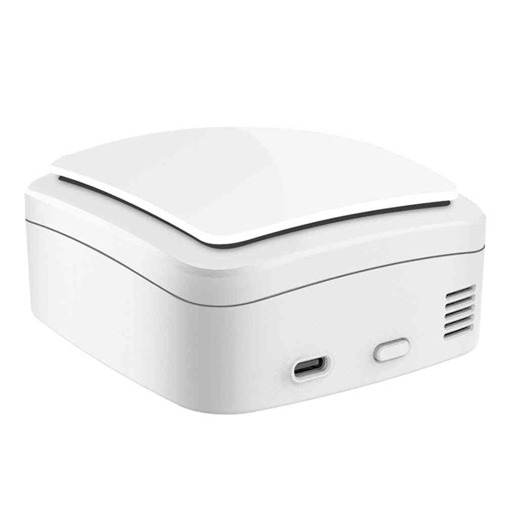 Mini Ozone Generator Deodorizer Air Purifier Usb Rechargeable Fridge Purifier Portable Air Small Space Clear Odor