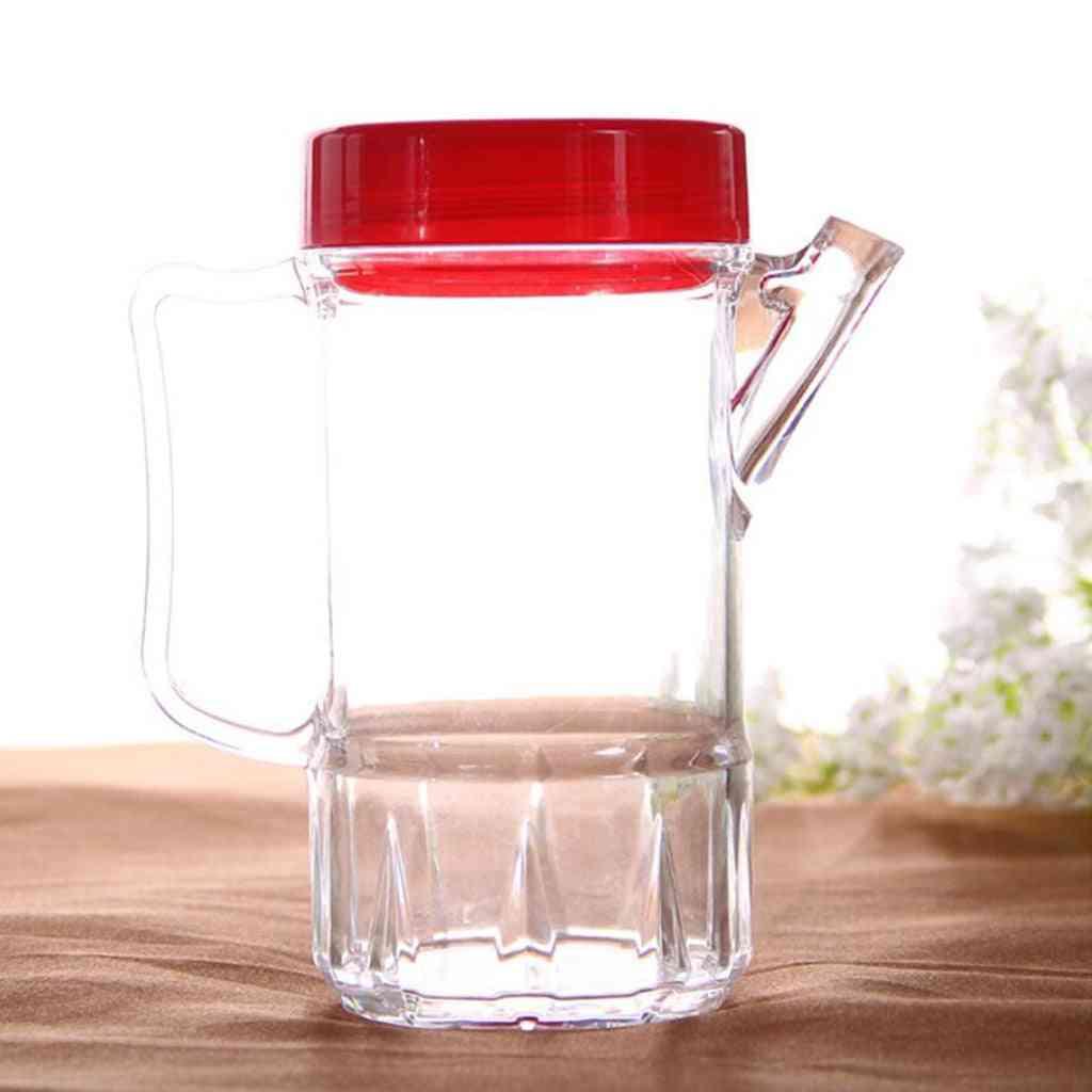 Oil Vinegar Pourer Glass Bottle, Condiment Acrylic Bottle