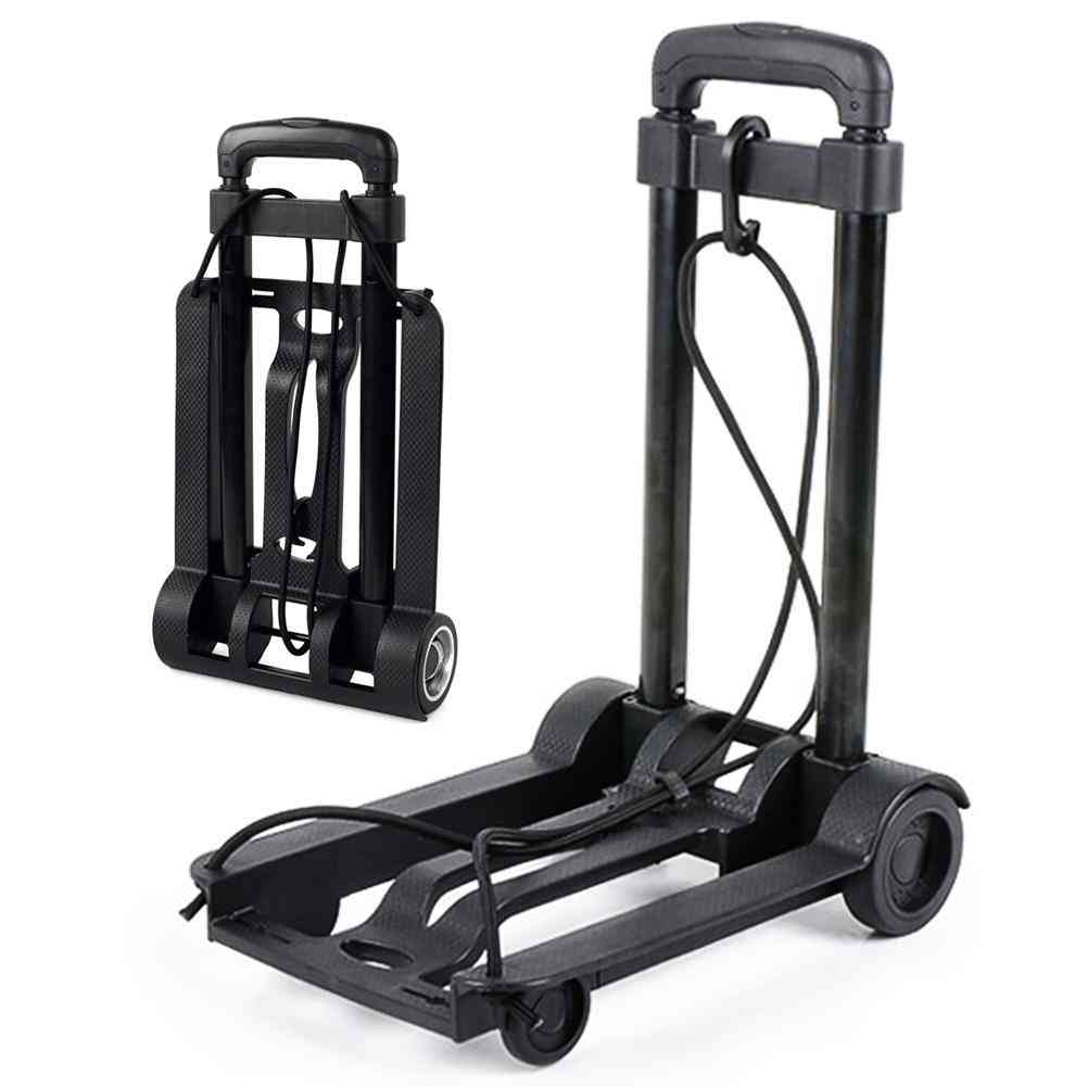 Portable Folding Hand Truck, Heavy Duty, Lightweight Cart For Luggage Moving