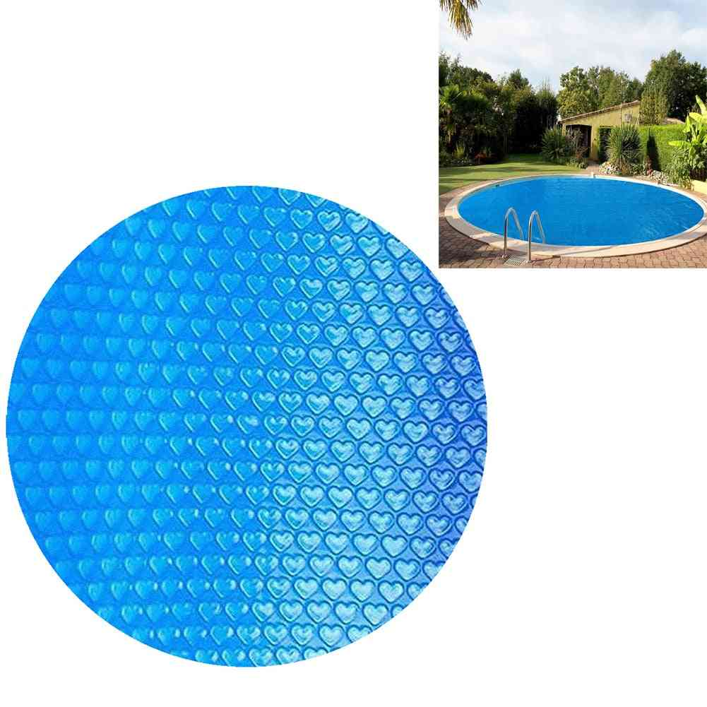 Pool Cover, Swimming Round Solar Cover Protector, Waterproof, Dust Rope Insulation Film, Home Accessor, Indoor, Outdoor