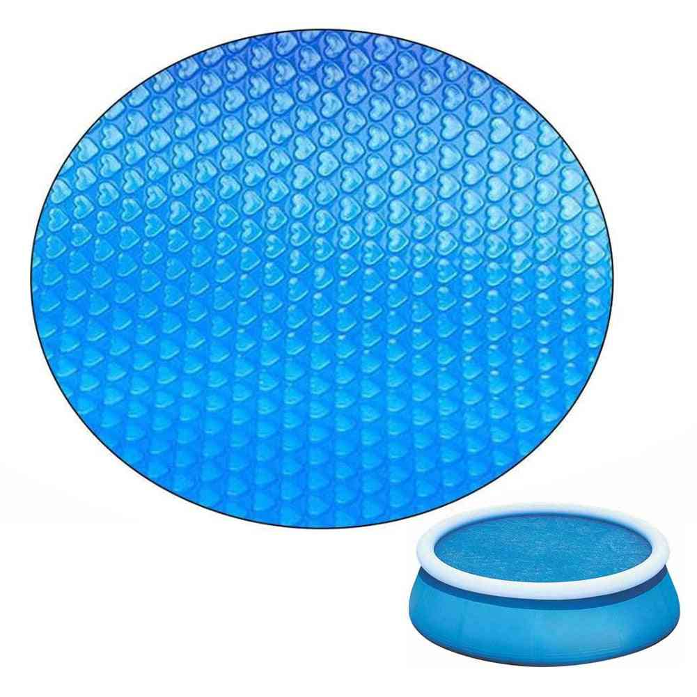 Round Swimming Pool Solar Cover, Inflatable, Uv-resistant, Waterproof, Dustproof, Heat Covers