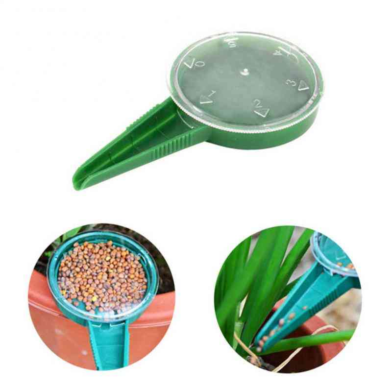 Convenient Seed Seeders, Gardening Tool, Can Be Adjusted, Suit Various Sizes, Dial Sower