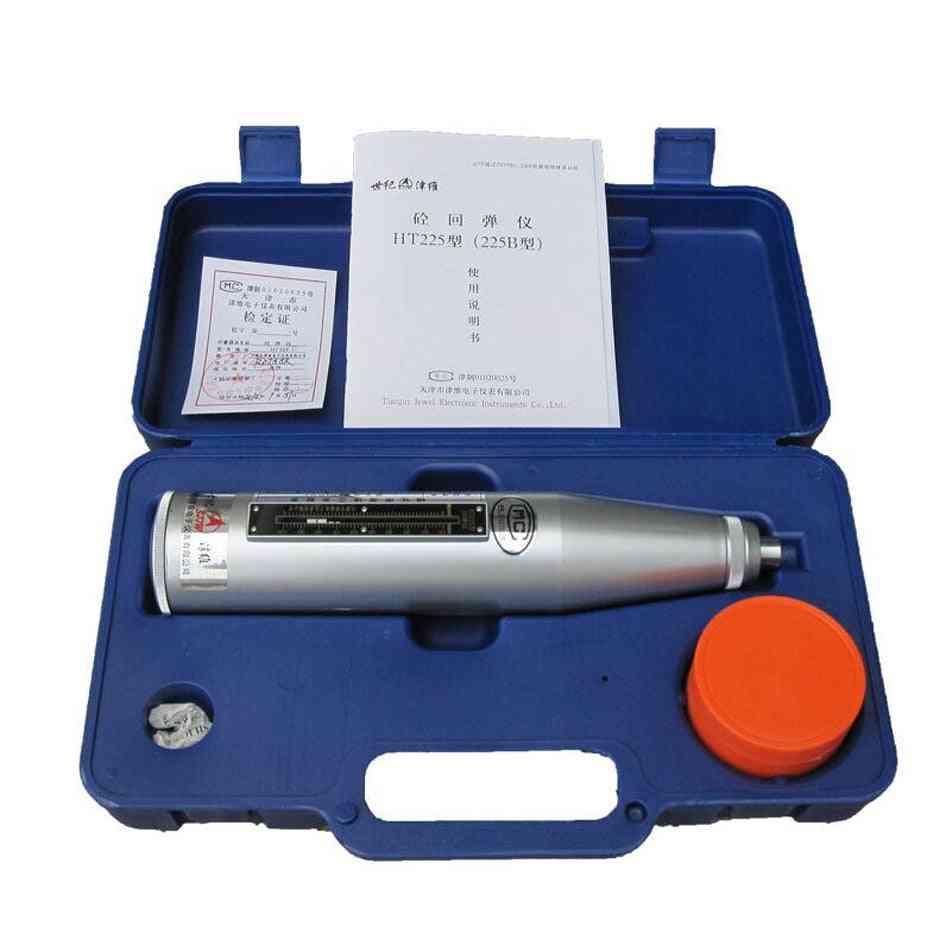 Ht-225b Digital Concrete Test Rebound Hammer Elasticity Tester