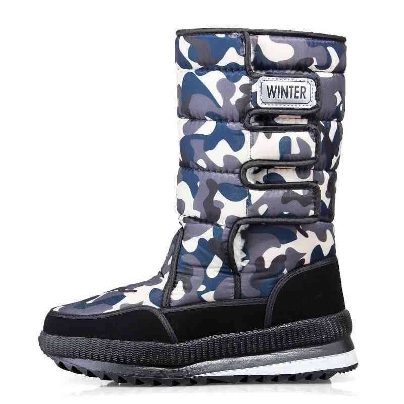 Men Warm Snow Boots