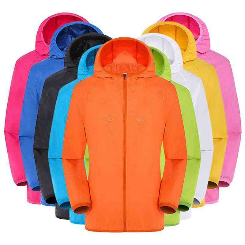 Impermeable Rain Jacket, Men, Women, Raincoat Casual, Windproof, Ultra-light, Rainproof, Windbreaker