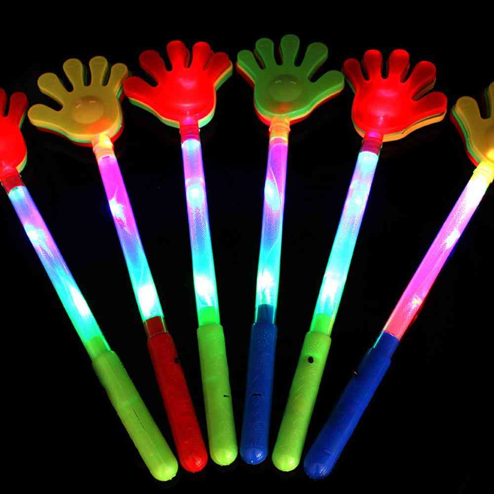 Led Hands Clap Toy, Luminous Palm Clapping Kids For Concert Props, Party Supplies