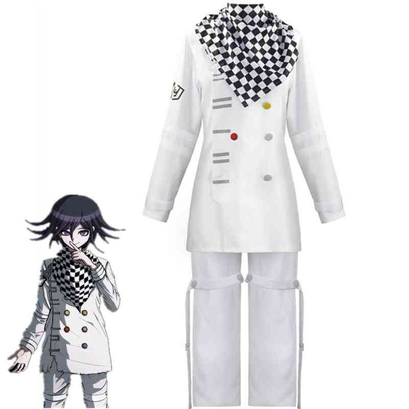 V3 Cosplay Costume Full Set Zentai Scarf Cloak Uniforms Anime Clothes