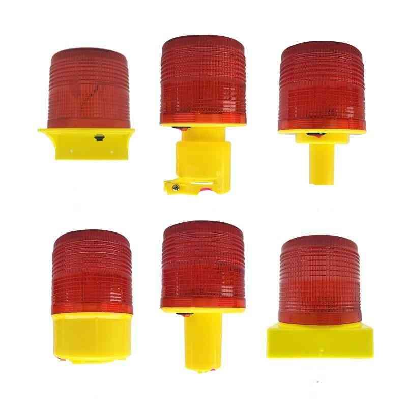 Solar Powered Traffic Warning Light,